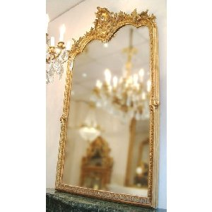 MIROIRS ANCIENS ANTIQUE MIRRORS chemines anciennes antique mantels France Paris Ile de