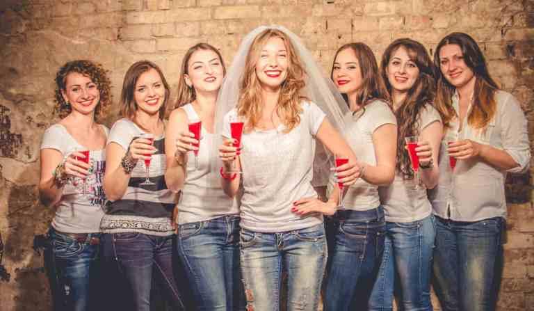 despedida de soltera con amigas