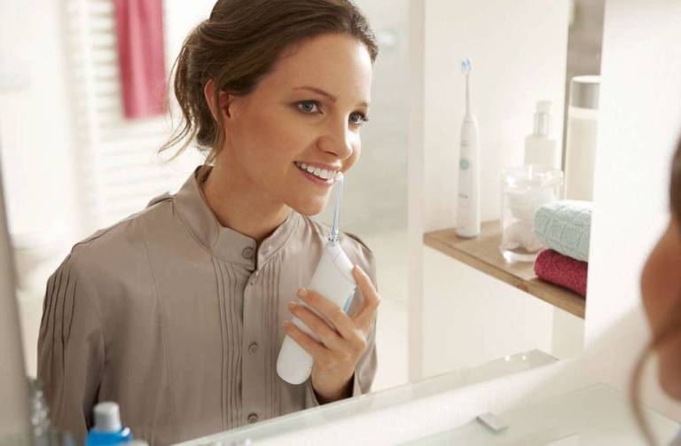 irrigador para una limpieza dental perfecta