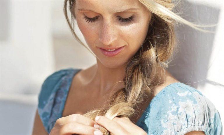 Sanear el pelo sin cortarlo