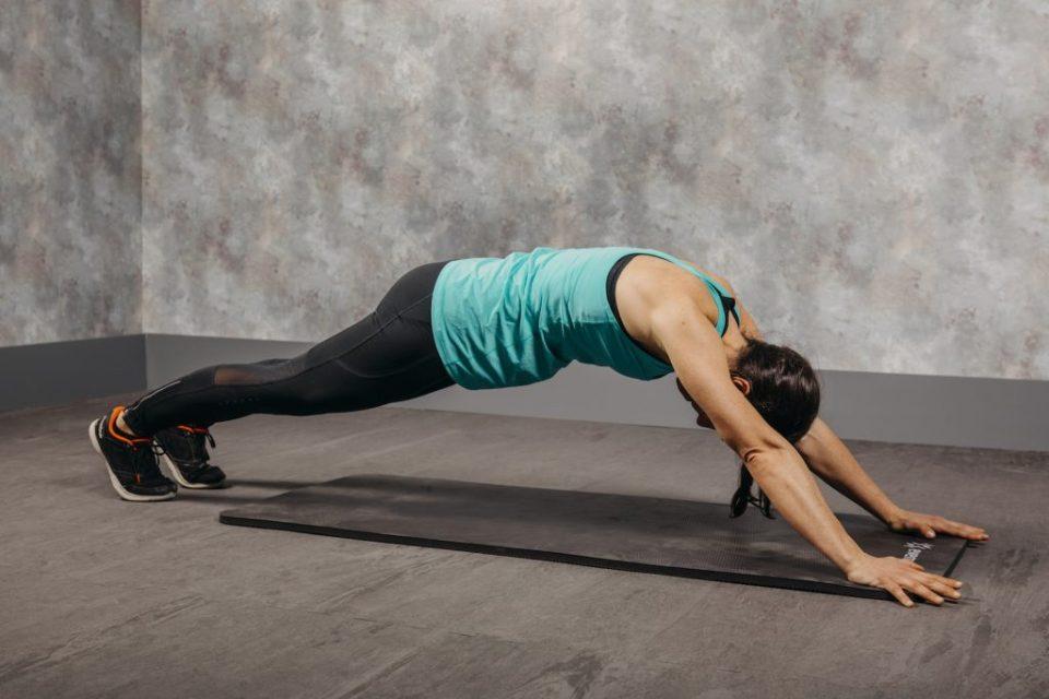 ejercicios con esterilla