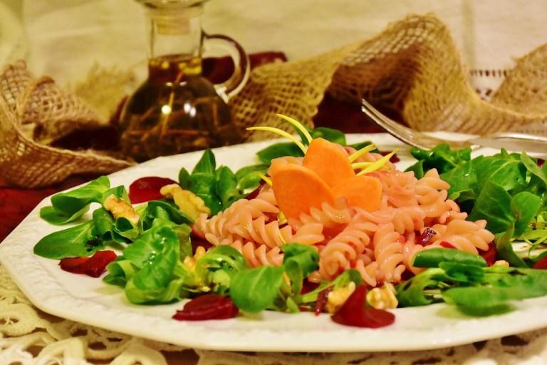 Recetas de ensaladas de pasta saludables