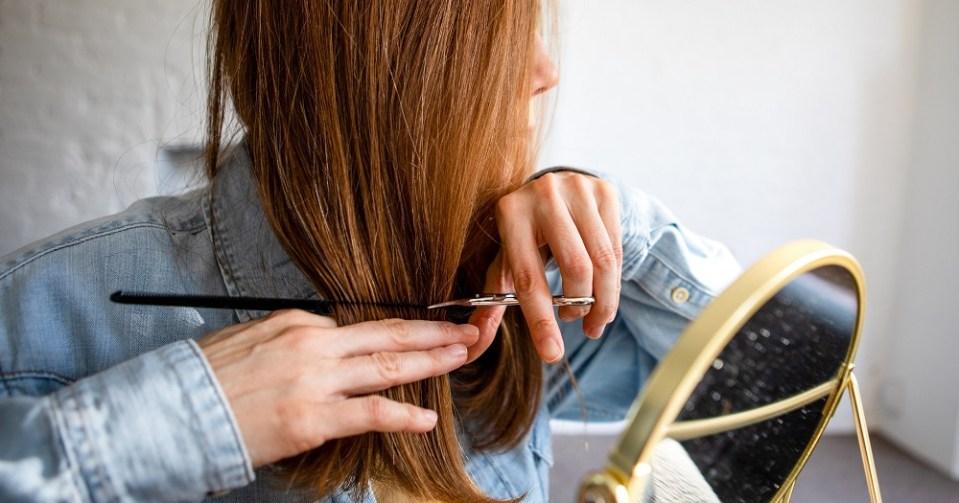 Cómo cortarse el pelo una misma