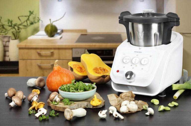 recetas saludables y rápidas con robot de cocina