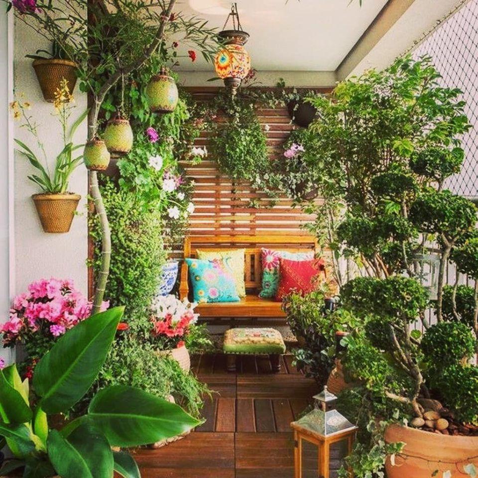 cómo tener un jardín en una terraza