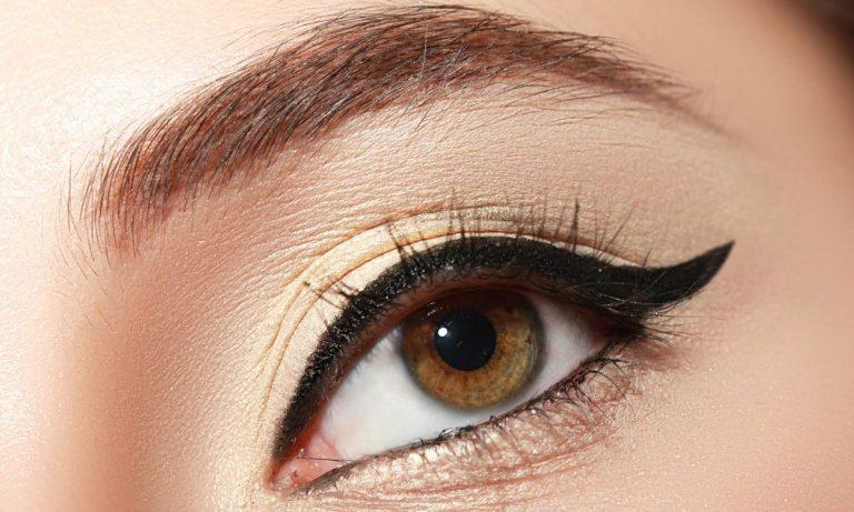 ojos grandes con eyeliner paso a paso