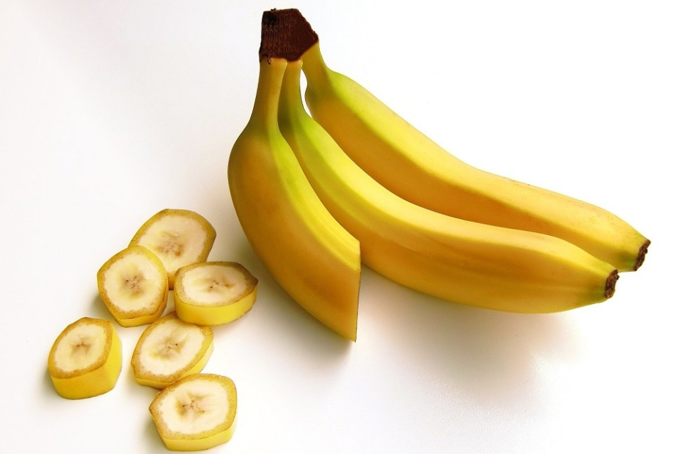 Plátano para antes de entrenar