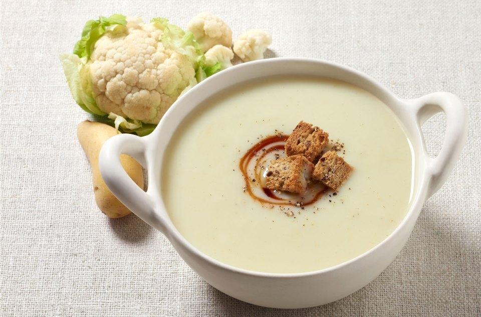 crema de coliflor, una de las mejores recetas de cremas y sopas