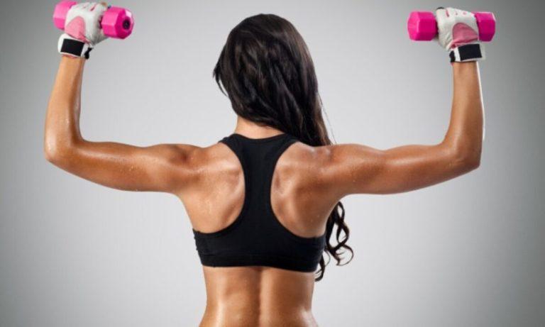 ejercicios para tonificar tus hombros