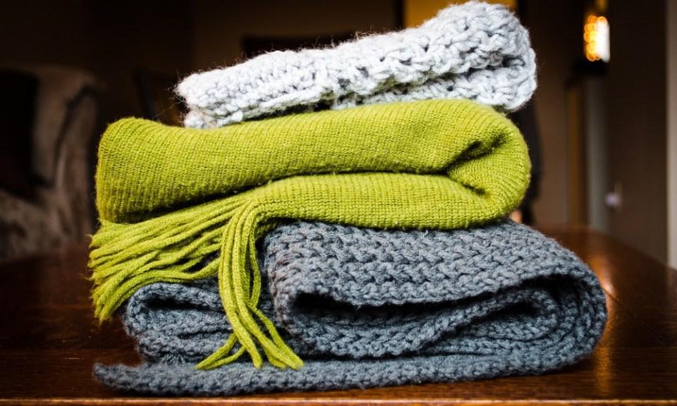 ropa para ahorra en calefacción