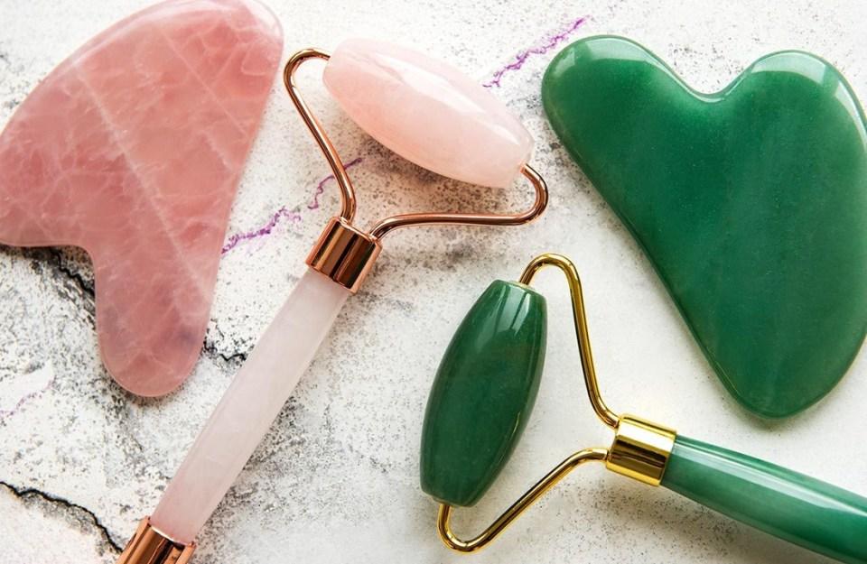 Diferencias entre rodillo de jade y cuarzo rosa