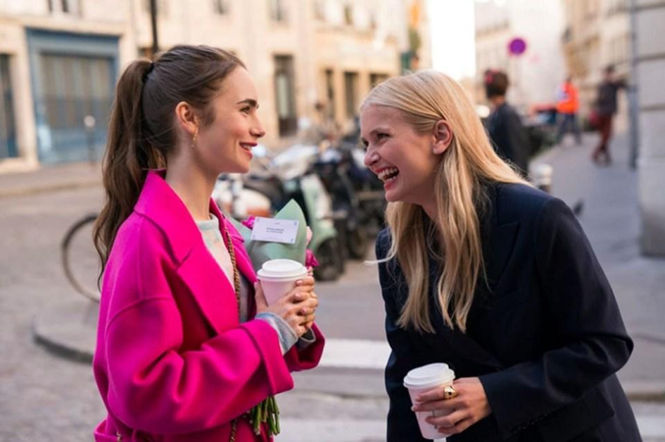 En Emily in Paris, una americana intenta cambiar a los franceses
