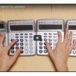 La canción de Super Mario… con calculadoras