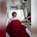 FUERTE VÍDEO: Sobrevive con una barra de hierro que le entró por el pecho y le salió por el cuello