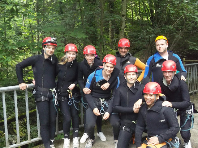 group canyoning Furon