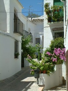 Rues du village blanc de Zuheros