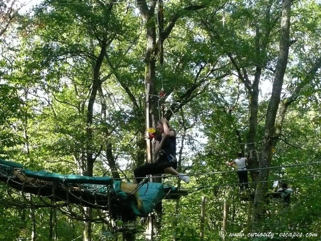 Accrobranche: on se prend pour Tarzan et Jane