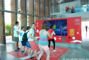 Just Dance au Pavillon Coca-Cola de l'Expo Milan 2015