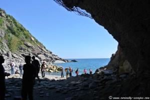 Petite plage de Vernazza