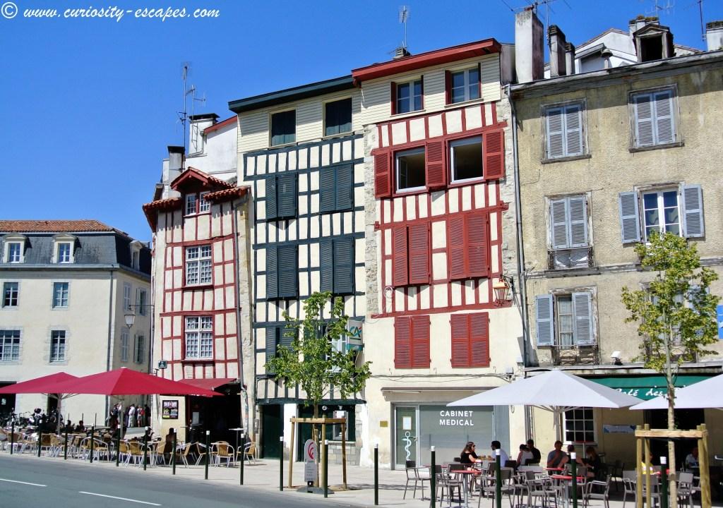 maisons traditionnelles Bayonne