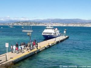 embarcadère île Ste Marguerite