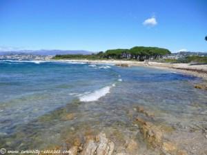 plage île Ste Marguerite