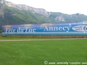 fête du lac d'Annecy tous les ans en août