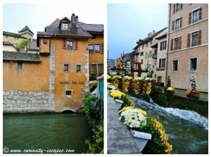 rues colorées d'Annecy