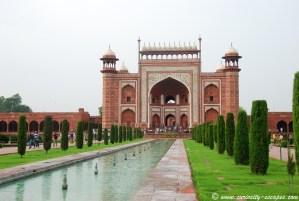Porte du Taj Mahal