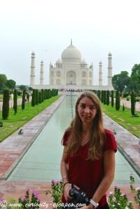 Devant le Taj Mahal enfin