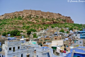 Forteresse Mehrangarh de jour, Jodhpur