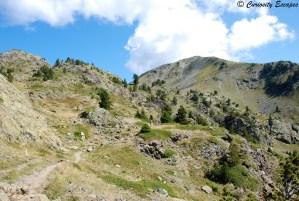 sentier vers les lacs Robert, Chamrousse