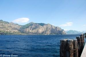 Sur les rives du Lac de Garde, Italie