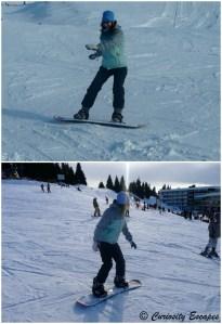 snowboard à Chamrousse