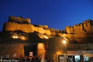 Fort de Jaisalmer de nuit
