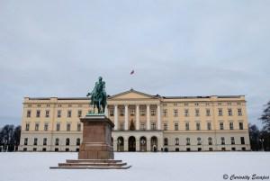 Royal Palace d'Oslo, Norvège