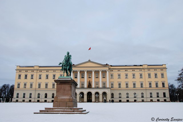 Royal Palace d'Oslo, Norvège