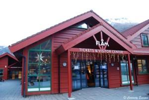 La très jolie gare de Flåm, Norvège