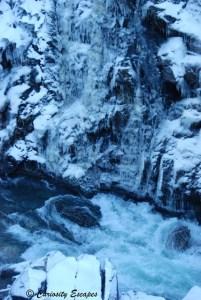 Cascade de Kjosfossen, Norvège