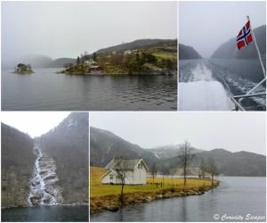Croisière sur le fjord de Bergen à Mostraumen