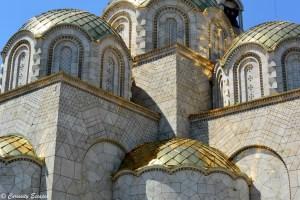 Eglise en construction à Skopje