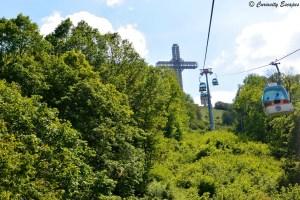 Le téléphérique du Mt Vodno, Skopje