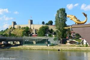 Forteresse de Skopje sur les hauteurs de la ville