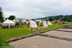 Camp romain au musée gallo-romain de Vienne, Isère