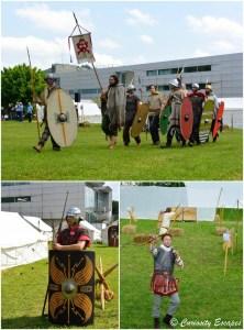 Défilé de légions romaines et gauloises aux journées gallo-romaines de Vienne