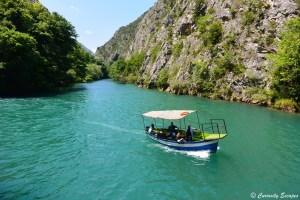 Canyon de Matka en Macédoine
