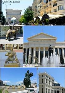 Palmarès des très nombreuses statues de Skopje, Macédoine