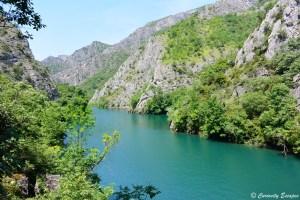 Sur les hauteurs du canyon de Matka, Macédoine