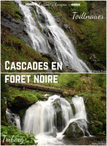 Cascades en Forêt Noire