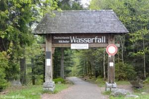 Triberg: cascades les plus hautes d'Allemagne